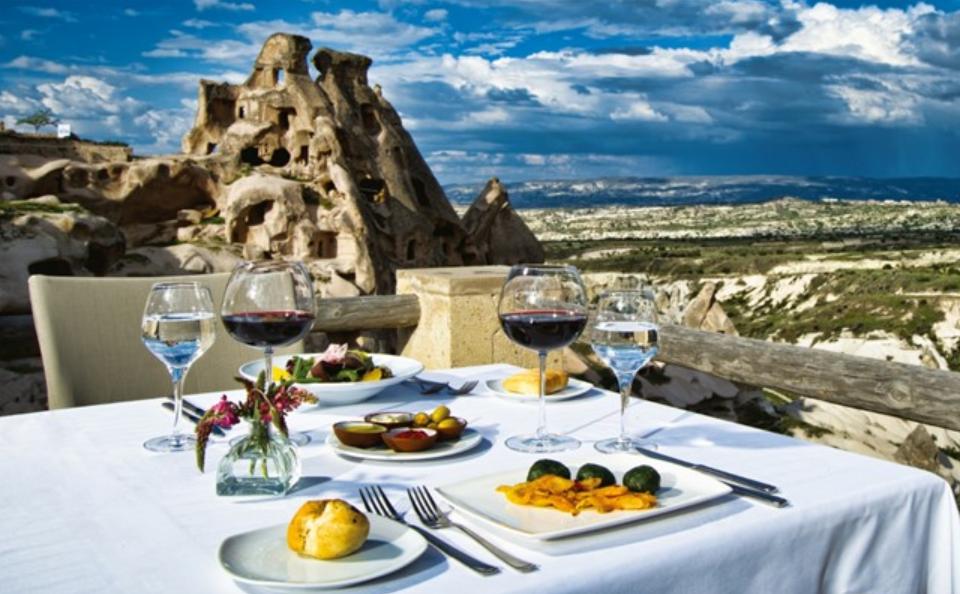 Kapadokya'da kahvaltı mekanları
